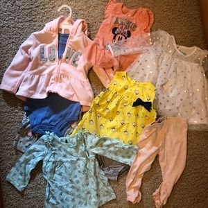 12 month bundle (8pieces) baby clothes